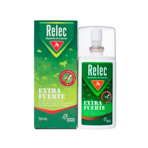 Relec Extra fuerte Spray Repelente 75 ml+Regalo Relec post picadura