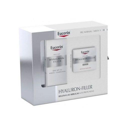 Pack Hyaluron-Filler Crema Dia SPF15 Piel Normal 50ml + Crema Noche 50ml