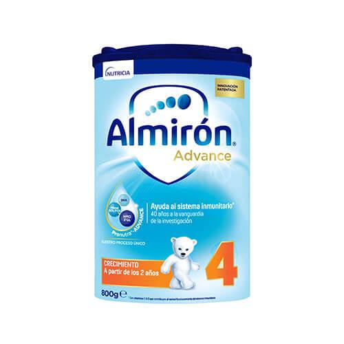 Almirón Advance 4 Leche de crecimiento en polvo desde los 24 meses 800g