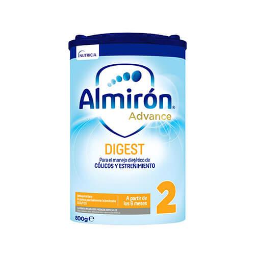 Almirón Advance Digest 2 Leche de fórmula anti-colico y anti-estreñimiento en polvo desde los 6 meses 800g