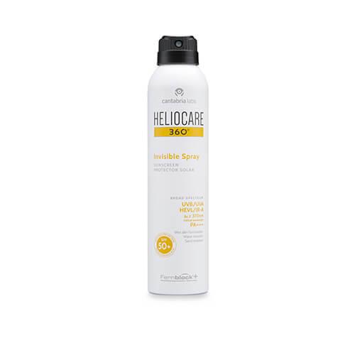Heliocare 360º Invisible Spray SPF50+ Protector solar