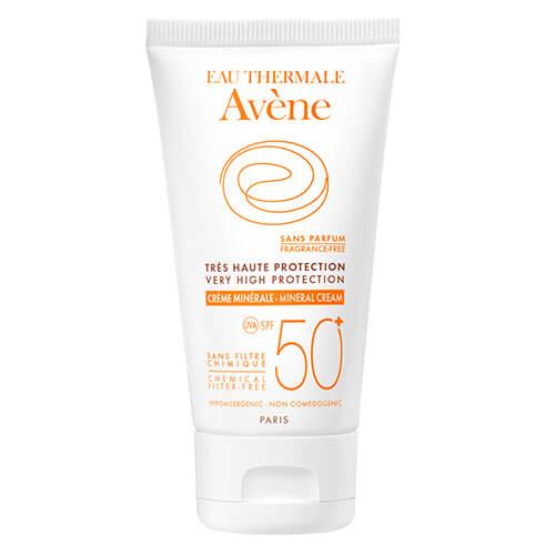 Eau Thermale Avène Crema Mineral Pantallas Físicas Spf 50+ 50 ml