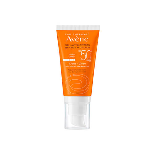 Eau Thermale Avène Crema Solar Facial Spf 50+ Sin Perfume 50 ml