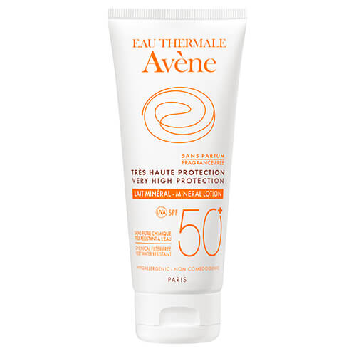 Eau Thermale Avène Leche Spf 50+ Mineral Pantallas Físicas 100 ml