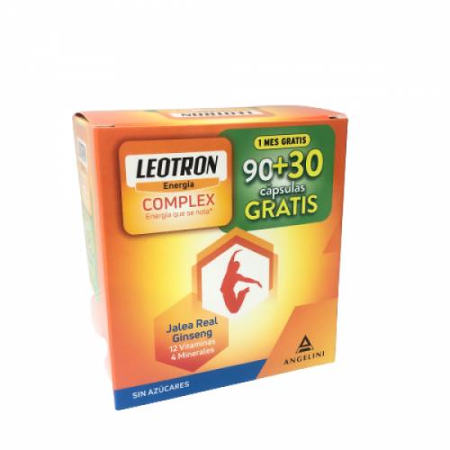 Leotron Complex 90 Cápsulas y 30 de Regalo