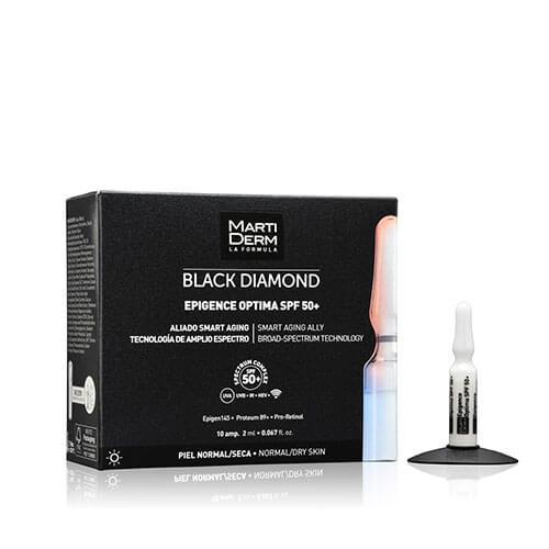 MartiDerm Black Diamond Epigence Optima SPF 50+ 10 ampollas
