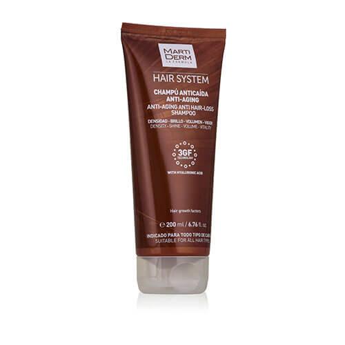 MartiDerm Hair System Champú Anticaída Antiaging  200 ml