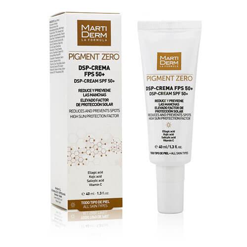 MartiDerm Pigment Zero DSP Crema Despigmentante FPS 50+ 40 ml