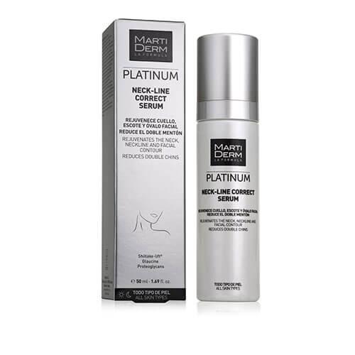 MartiDerm Platinum Neck Line Correct Serum 50ml