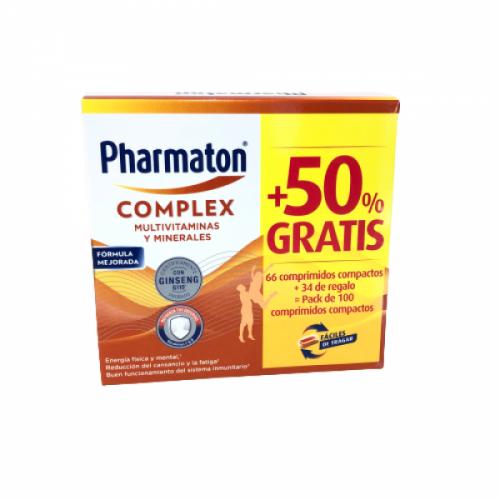 Pharmaton Complex Pack 100 comprimidos compactos