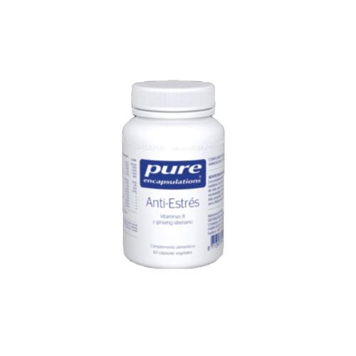 PURE Encapsulations Anti-Estrés 60 cápsulas 44g
