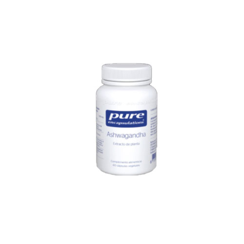 PURE Encapsulations Ashwagandha 60 cápsulas 41g