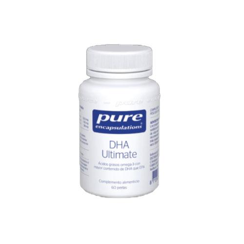 PURE Encapsulations DHA Ultimate 60 cápsulas 51g