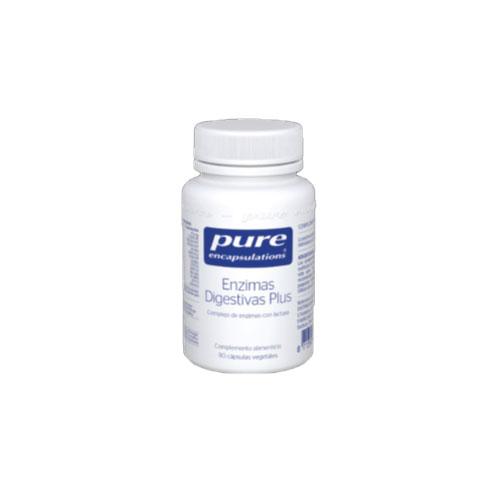 PURE Encapsulations Enzimas Digestivas 90 cápsulas 21g
