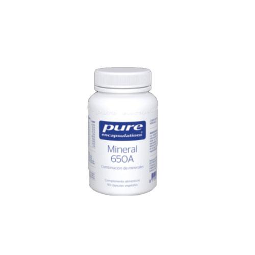 PURE Encapsulations Mineral 650A 90 cápsulas 61g