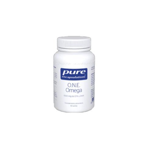 PURE Encapsulations ONE Omega 60 cápsulas 96g