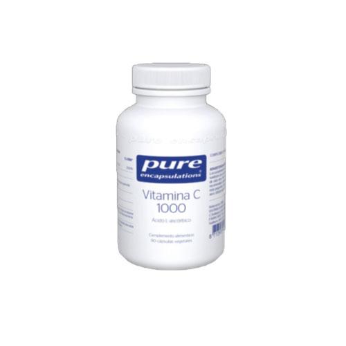 PURE Encapsulations VitaminaC 1000 90 cápsulas 94g