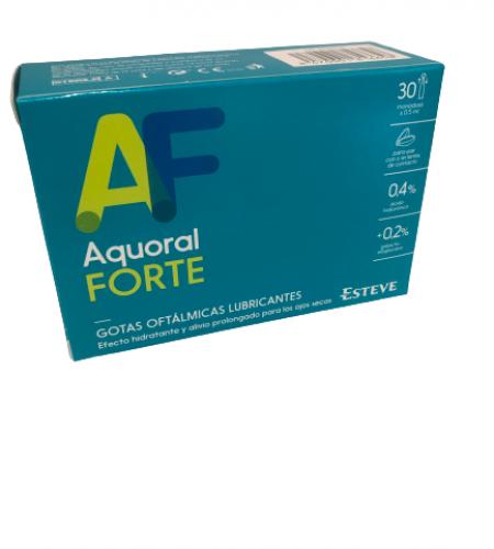 Aquoral Forte Gotas Oftalmicas 30 Monodosis