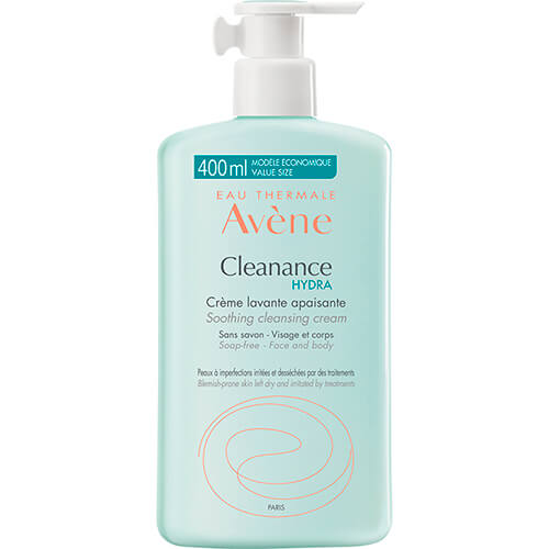 Eau Thermale Avène Cleanance Hydra Crema Limpiadora Calmante 400 ml
