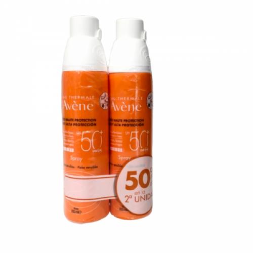 Avene Solar Spray SPF50+ Duplo 200ml+200ml