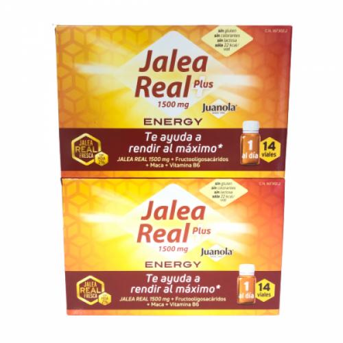 DUPLO 2x1 Juanola Jalea Real Energy Plus 14 Viales + 14 viales
