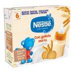 NESTLÉ Leche y Cereales 8 Cereales con Galleta María 2x250ml