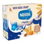 NESTLÉ Leche y Cereales 8 Cereales con Miel Pijama 2x250ml