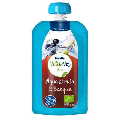 NATURNES BIO Agua Fruta del Bosque