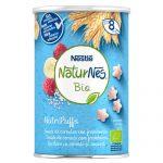 NATURNES BIO NutriPuffs Snack de Cereales con Frambuesa 35g