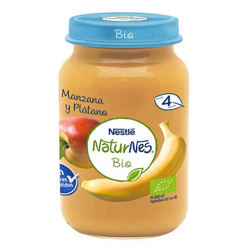 NATURNES BIO Tarrito Manzana y Plátano 190g