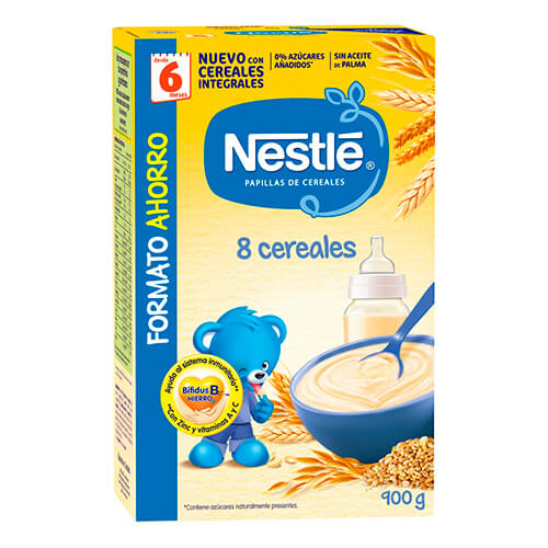 NESTLÉ Papilla 8 Cereales 900g