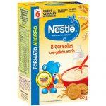 NESTLÉ Papilla 8 Cereales con Galleta María 900g