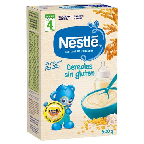 NESTLÉ Papilla Cereales Sin Gluten 500g